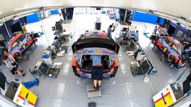 Elfyn Evans estira su buen momento en el shakedown del Rally de México