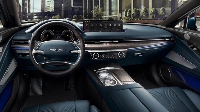 Genesis G80 2020 - interior