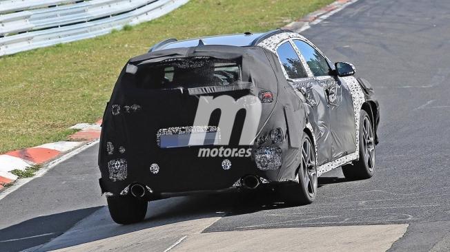Hyundai Kona N - foto espía posterior