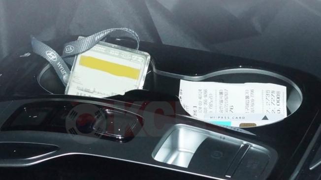 Hyundai Tucson 2021 - foto espía interior