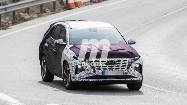 Hyundai Tucson 2021 - foto espía
