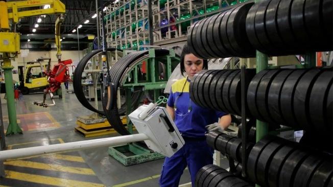 Fábrica de Michelin en Vitoria