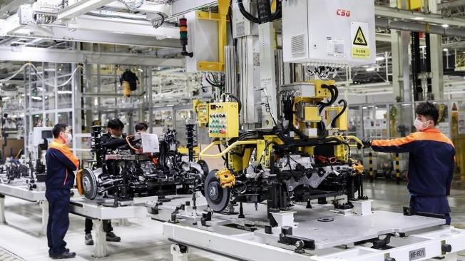 Producción del Polestar 2 en China
