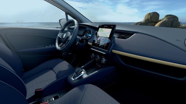 Renault ZOE Riviera - interior