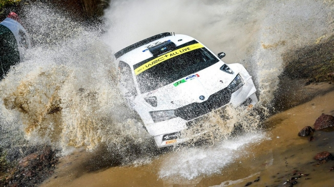 Sébastien Ogier estrena su palmarés con Toyota en un Rally de México acortado