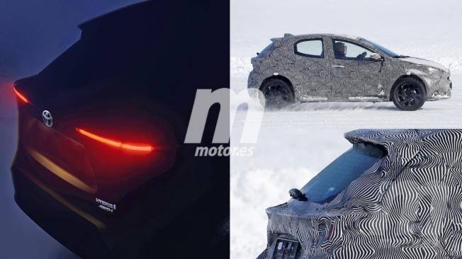 Toyota Yaris Cross - foto espía posterior