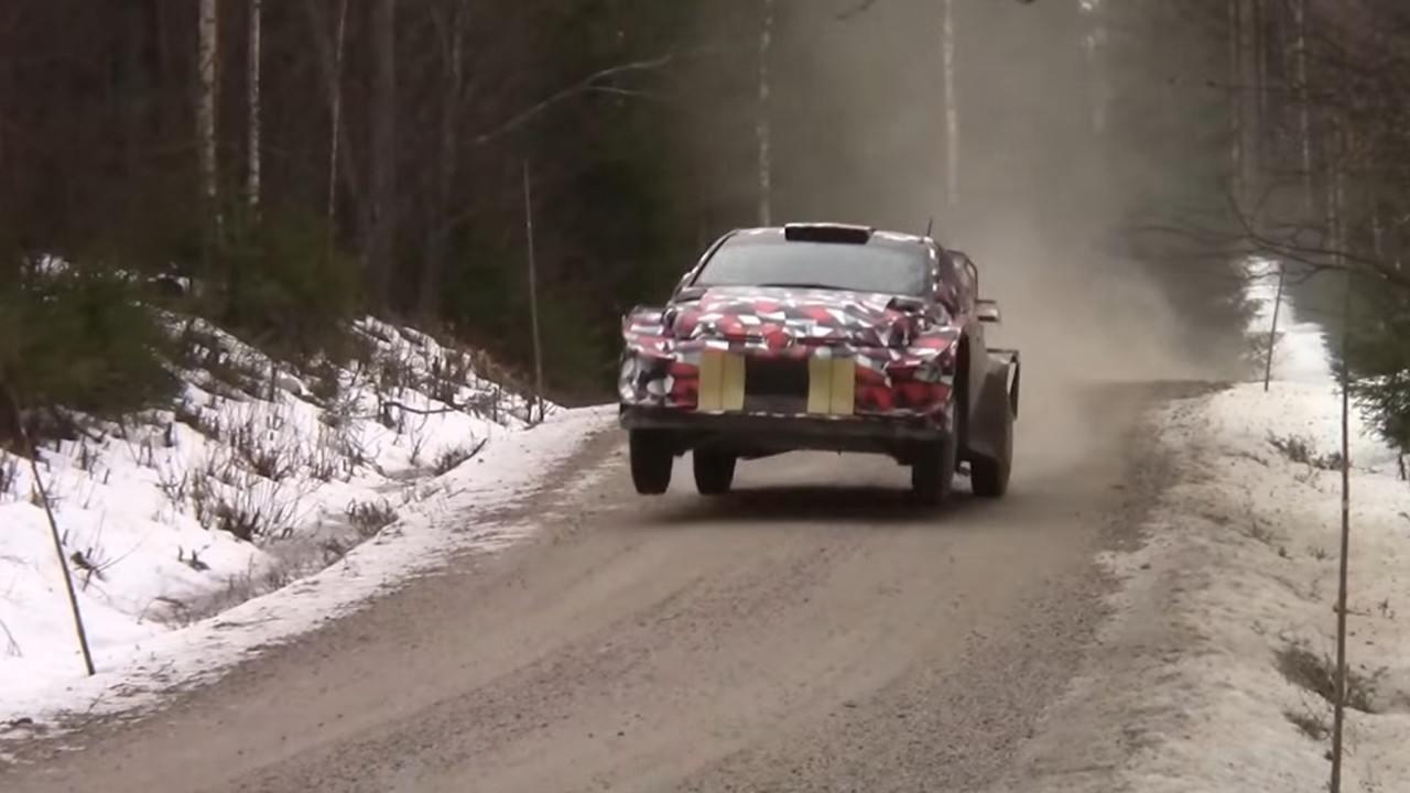 Nuevo test del Toyota Yaris WRC de 2021 en plena crisis del coronavirus