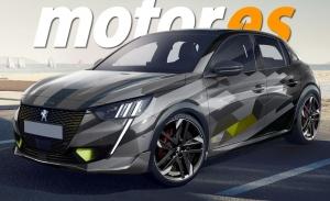 Adelantamos el diseño del Peugeot e-208 PSE, el deportivo eléctrico llegará en 2021