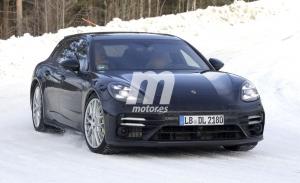 El facelift del Porsche Panamera Sport Turismo se deja ver en las pruebas de invierno