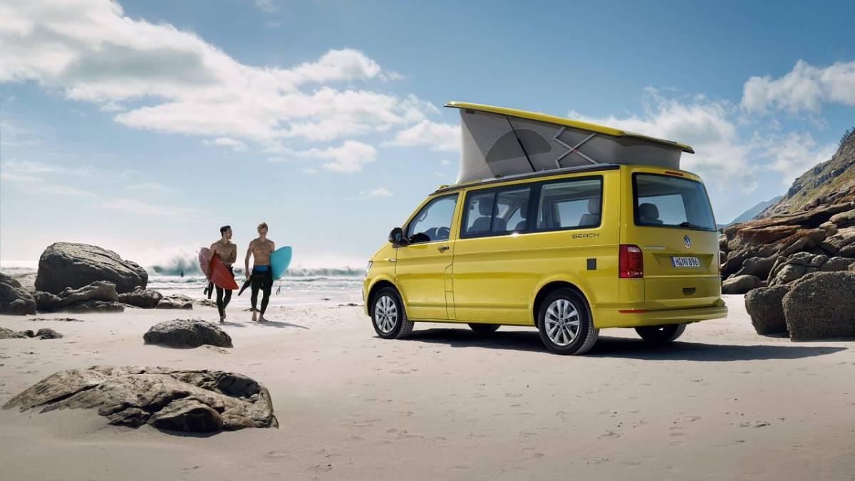 ¿Se puede acampar en la playa?