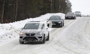 El facelift del SEAT Ateca 2020 vuelve a dejarse ver en las pruebas de invierno