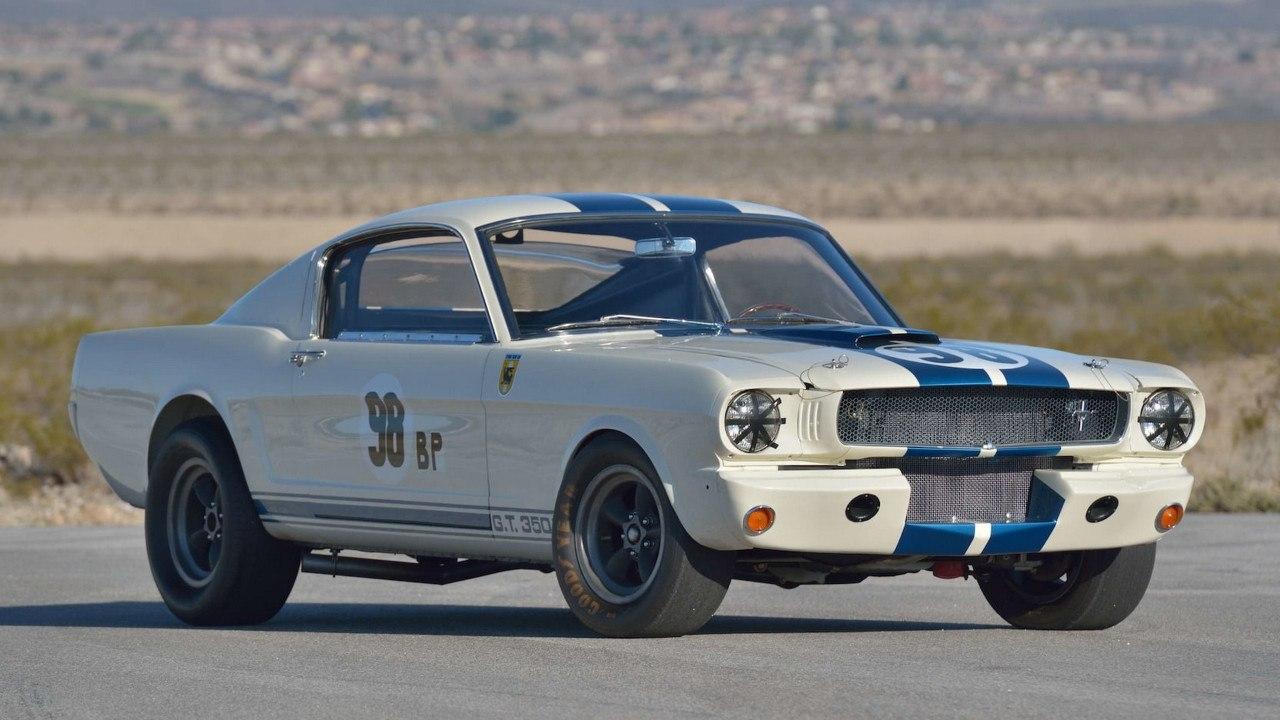 El primer Shelby GT350 que ganó una carrera postula a Mustang más caro de la historia