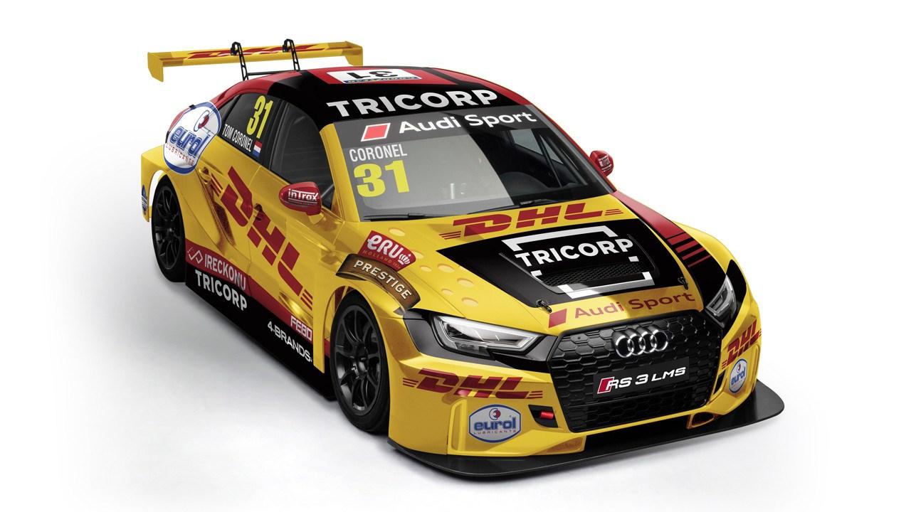Tom Coronel seguirá en el WTCR a bordo de un Audi de Comtoyou Racing