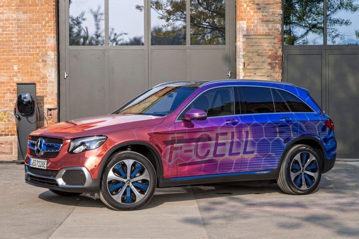 Adiós al Mercedes GLC F-CELL, la estrella planea terminar su producción en 2020