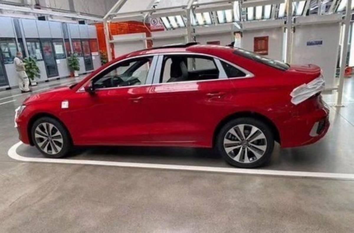 El nuevo Audi A3 L Sedán 2021 se filtra en China