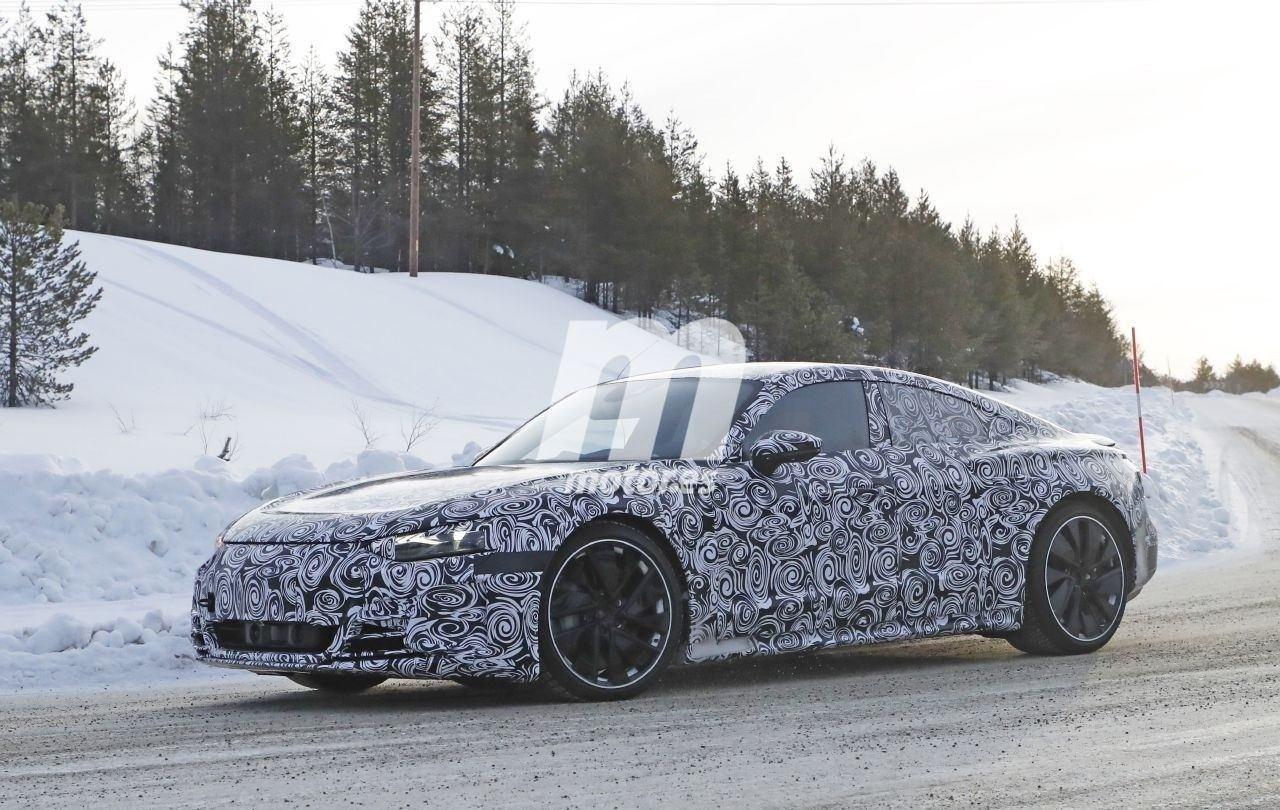 Un nuevo vídeo muestra el sonido de uno de los prototipos del Audi e-tron GT 2021