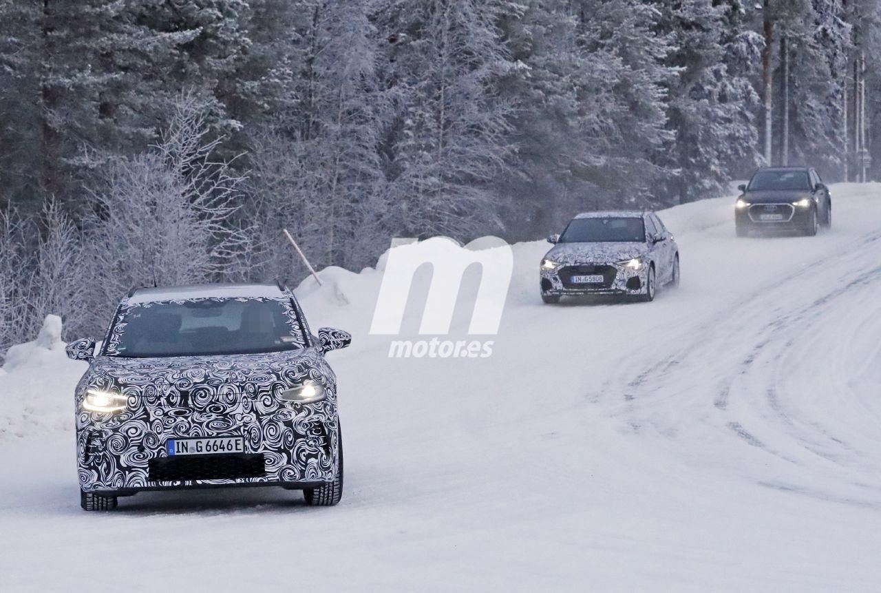 El Audi Q4 e-tron ya está en desarrollo ¡escondido como un Volkswagen ID.4!