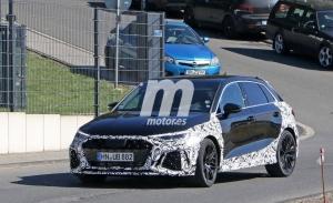 El nuevo Audi RS 3 Sportback 2021 deja a la vista nuevos detalles al perder camuflaje