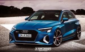 El agresivo Audi RS 3 Sportback 2021 anticipa su diseño en una recreación