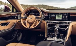 Bentley conserva la apariencia analógica en la pantalla digital de instrumentos