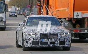 El nuevo BMW M4 Competition 2021 deja ver su interior en nuevas fotos espía