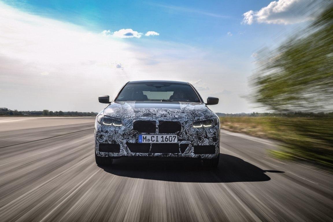 BMW avanza los primeros teaser del nuevo Serie 4 Coupé en Miramas