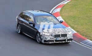 El BMW Serie 5 Touring 2021 cazado a fondo en Nürburgring [vídeo]