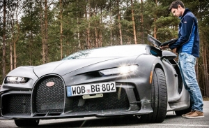Bugatti no para los trabajos de desarrollo con prototipos de los Chiron y Divo
