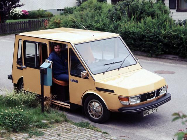 La historia de la furgoneta eléctrica de Saab que no era Saab