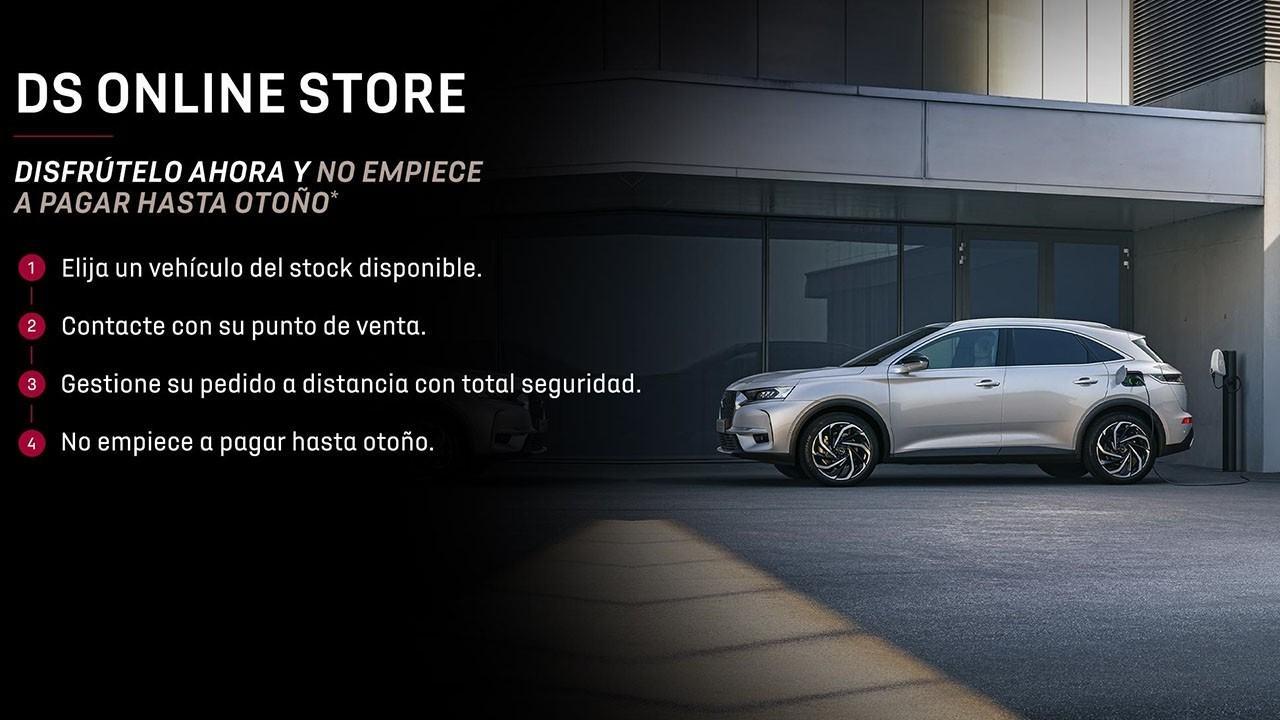 DS Automobiles refuerza su servicio de venta online de coches