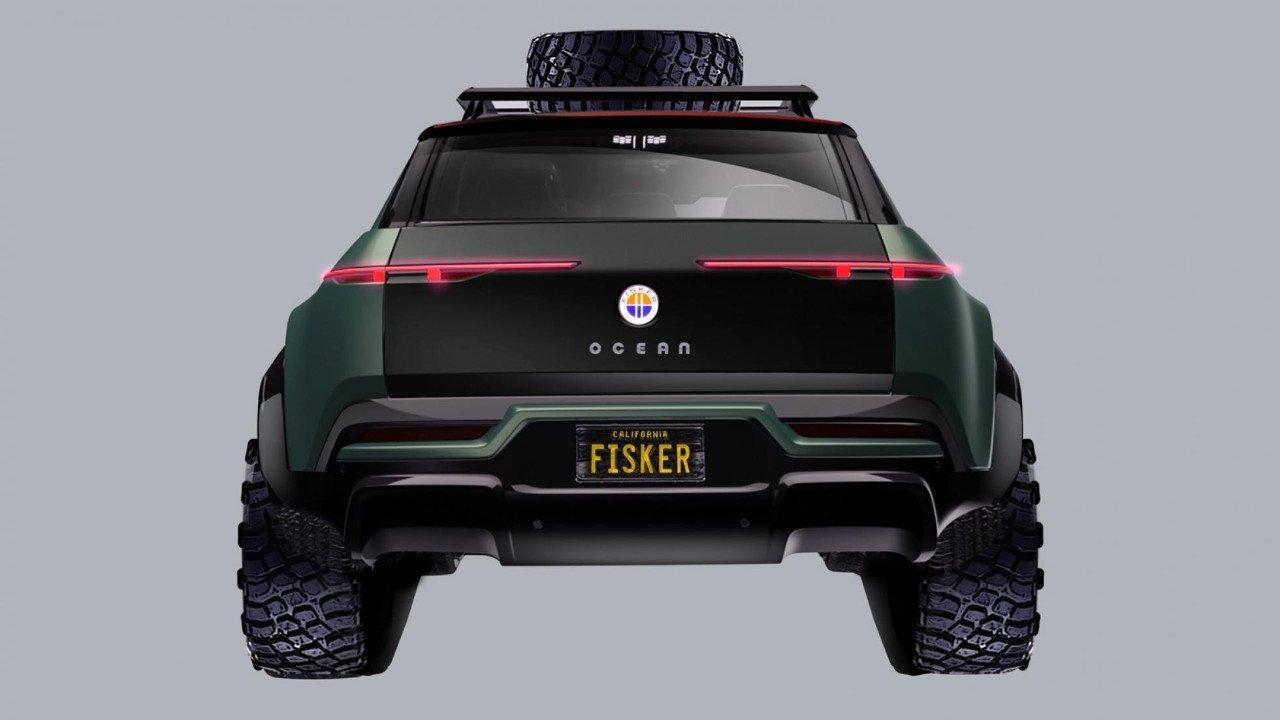 El Fisker Ocean también tendrá una versión off-road