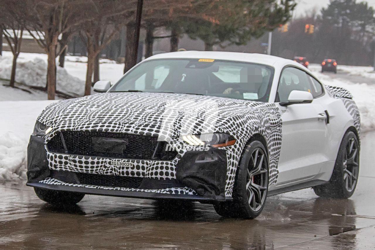 El Ford Mustang Mach 1 confirmado por los códigos de ...