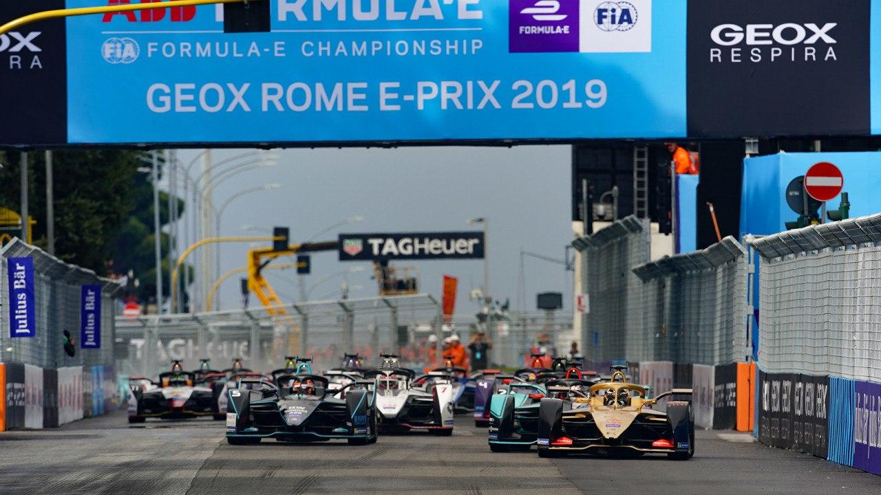 La Fórmula E mantiene el ePrix de Roma en su calendario hasta 2025