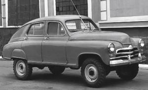 GAZ M-72, el primer SUV moderno de la historia