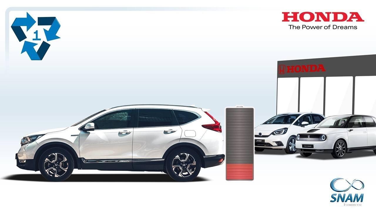 Honda eleva su apuesta por el reciclaje de baterías de coches híbridos y eléctricos