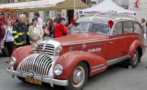 Horch 853 AS 12 Lepil, de descapotable de lujo a camión de bomberos