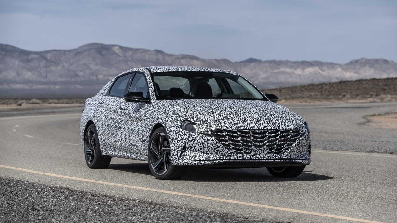 Hyundai desvela las primeras imágenes del nuevo Elantra N-Line