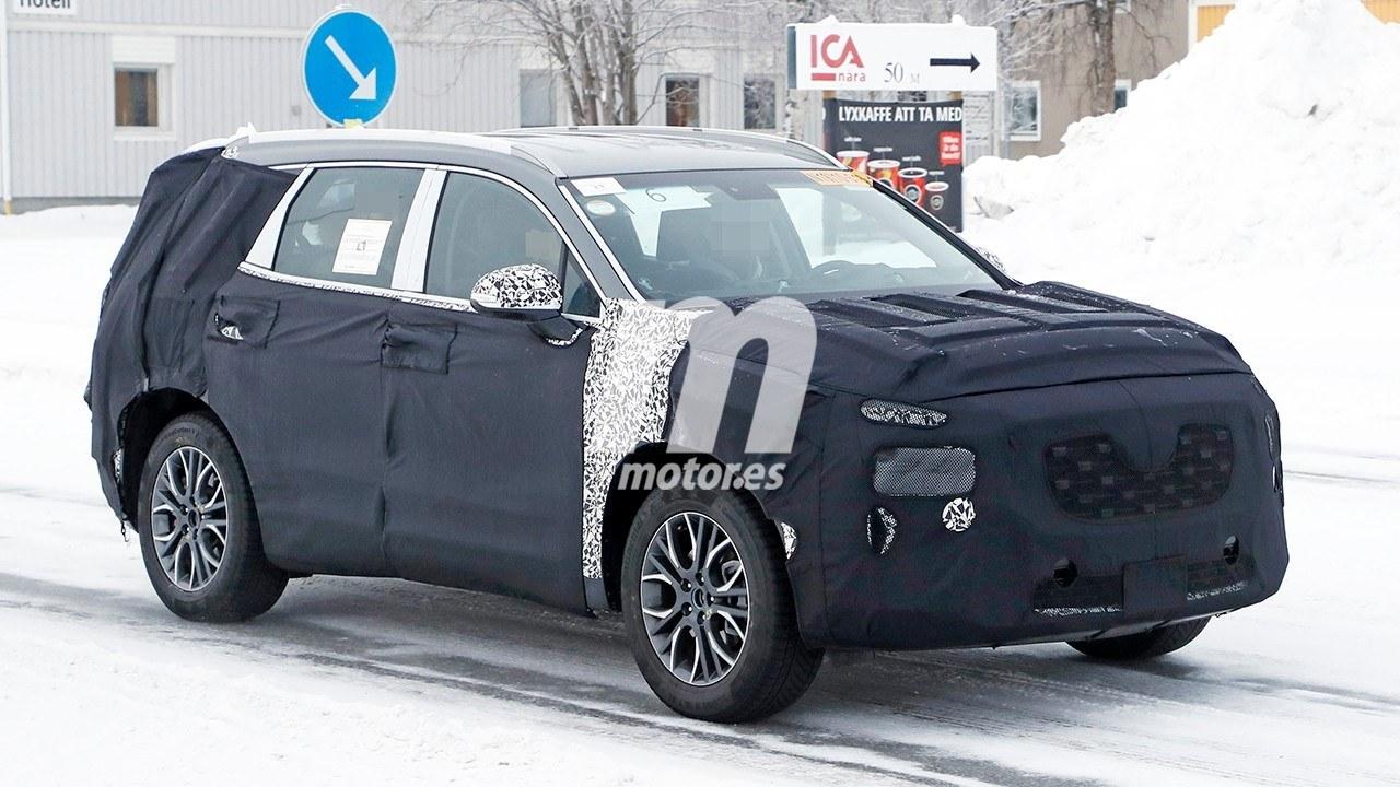 El Hyundai Santa Fe 2021 al detalle en estas nuevas fotos espía