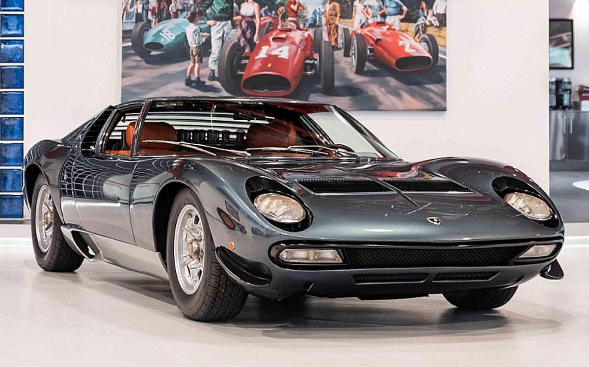 El Lamborghini Miura de la familia Real Saudí que fue rescatado de un almacén