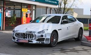 Primeras imágenes del nuevo Maserati Quattroporte facelift al desnudo