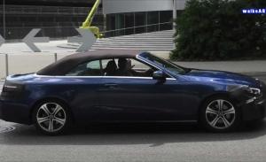 El nuevo Mercedes Clase E Cabrio facelift cazado casi al desnudo [vídeo]