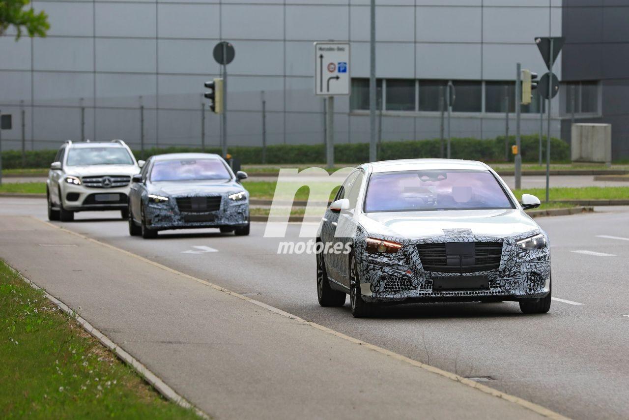 Los prototipos del nuevo Mercedes Clase S W223 se enfrentan a sus últimas pruebas