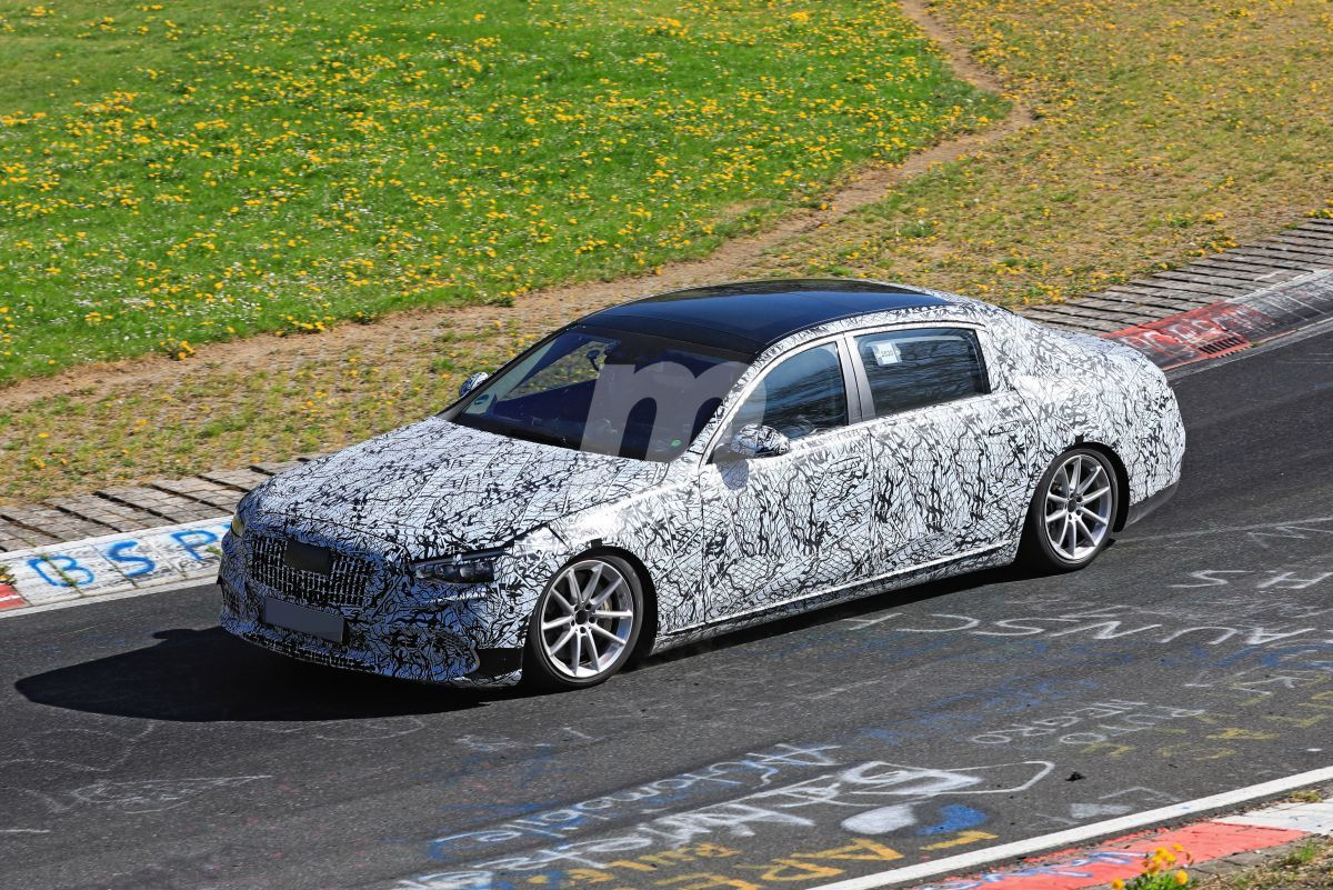 El nuevo Mercedes-Maybach Clase S ya se enfrenta a Nürburgring