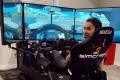 Robert Wickens regresa al volante de un IndyCar en un simulador