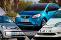 SEAT Mii electric vs Volkswagen e-up! vs Skoda Citigoe iV, ¡movilidad urbana eléctrica!