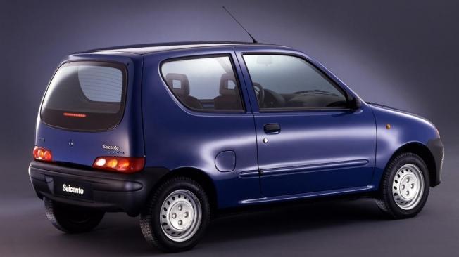 Fiat Seicento Elettra - posterior