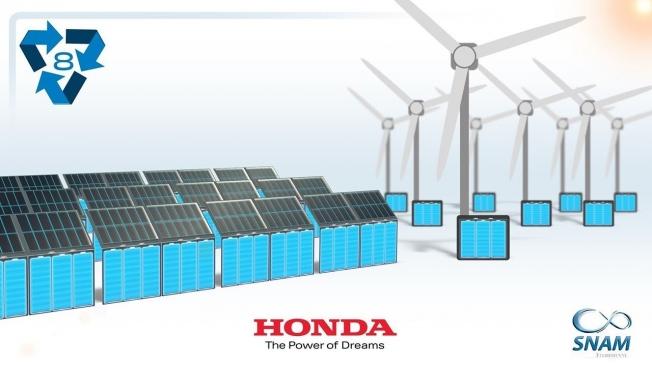 Honda y el reciclaje de baterías de coches híbridos y eléctricos