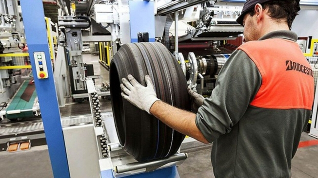 Fábrica de Bridgestone en Burgos