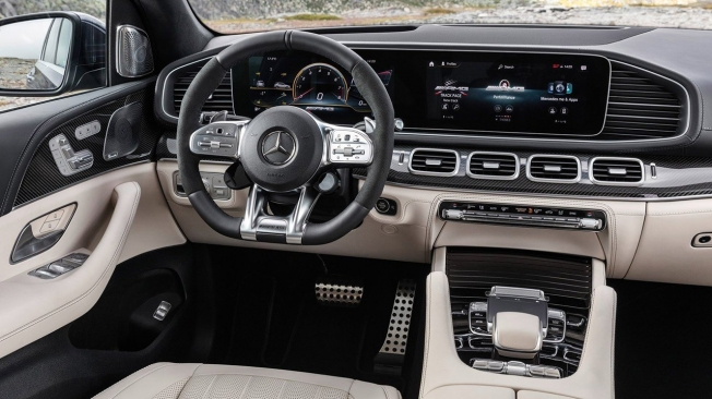 Mercedes-AMG GLE 63 4MATIC+ 2020 - interior