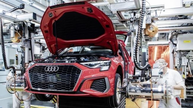 Producción del Audi A3 Sportback 2020